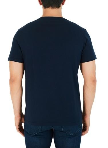 Etro  Pamuklu Bisiklet Yaka T Shirt Erkek T Shırt 1Y020 7910 0200 Lacivert